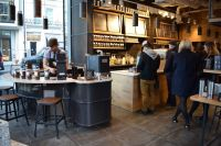 Caf & coffee shop counters - George Thomas Joinery