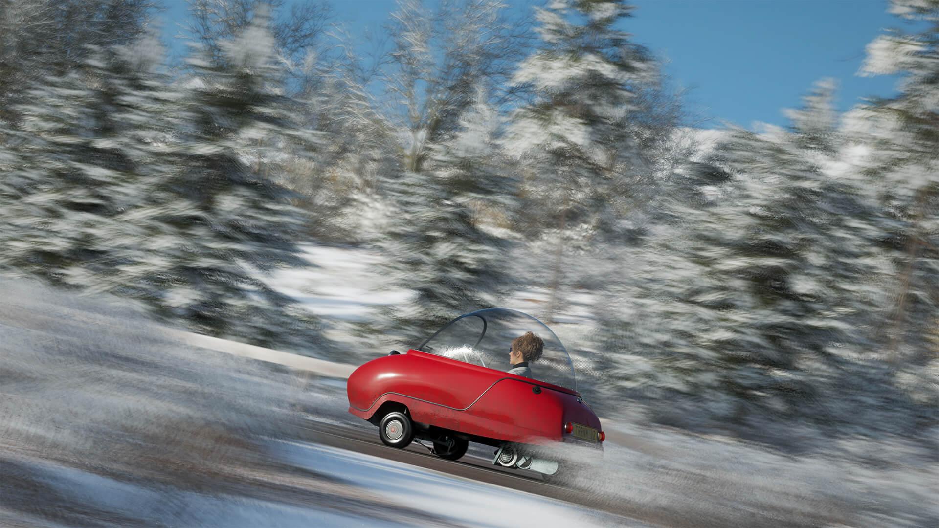 Rally Car Wallpaper Snow Forza Horizon 4 Picks Up A Drifting Silverado And A Bubble