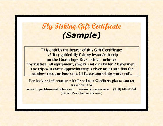 Fishing Gift Ideas Fly Fishing Gift Ideas - sample birthday gift certificate template
