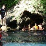 """Balneario cueva de """"Andá Mirá""""  Jutiapa Guatemala"""