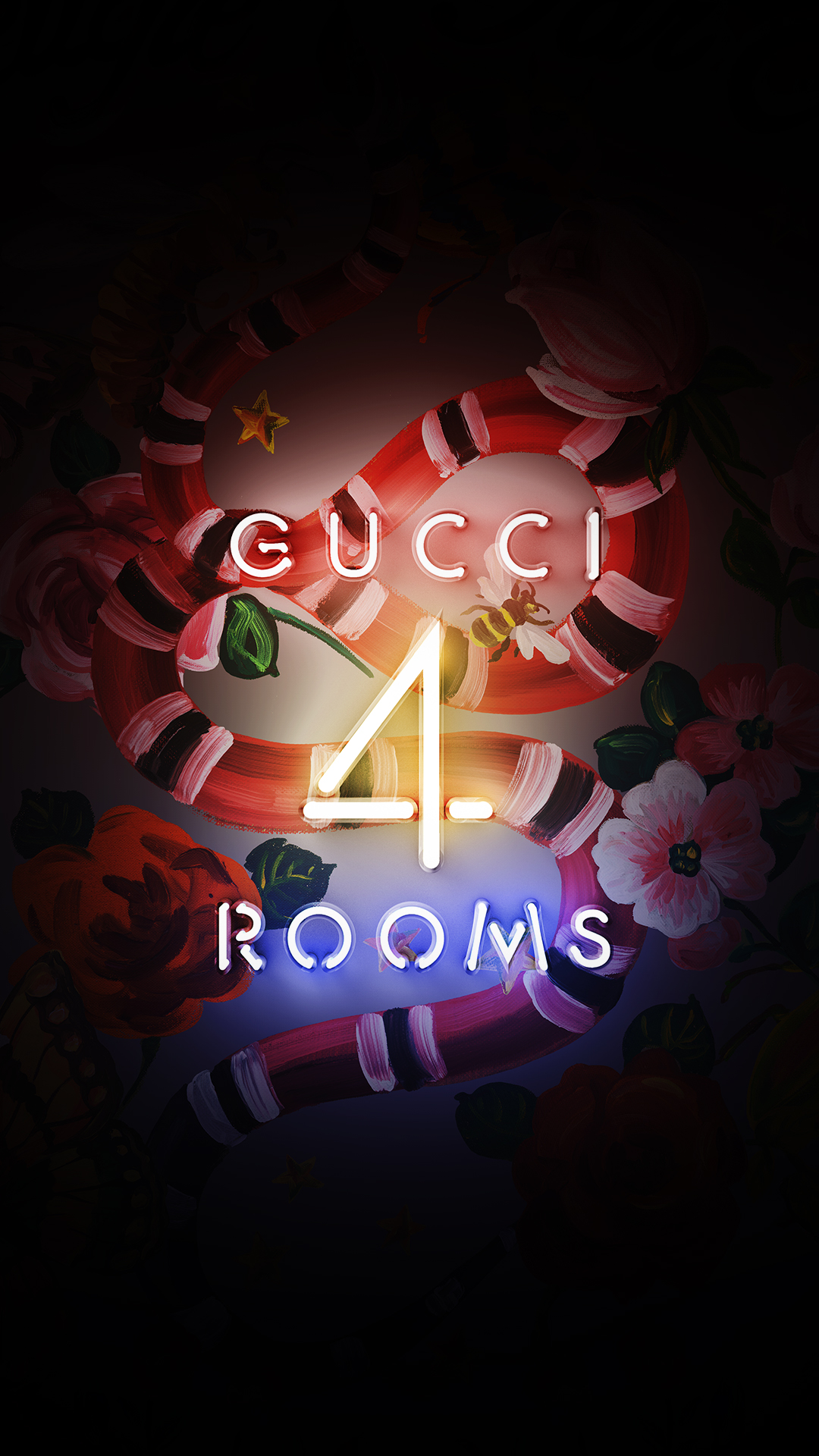 3d Wallpaper Online Shopping Gucci 4 Rooms Wallpapers Gucci Official Site United States