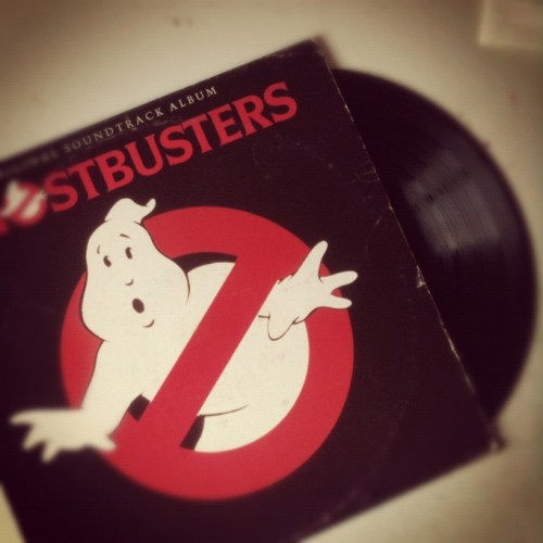 colonna sonora ost ghostbusters in vinile