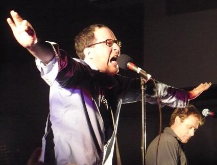 Craig Finn performing at UW in 2007. Photo by Travis Hay