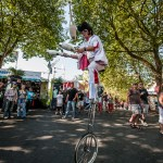 2012.09.03: Juggling Unicycle Elvis @ Bumbershoot, Seattle, WA