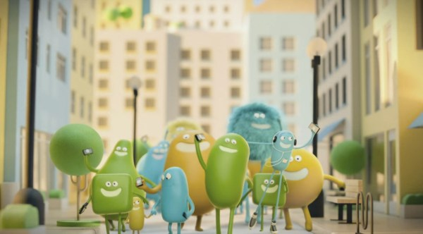 "Screen shot from Cricket Wireless commercial featuring Jinx's ""Alive"""