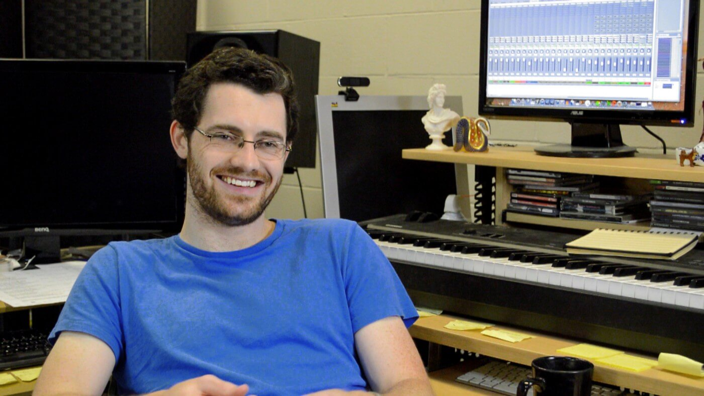 Austin Wintory is a composer who is scoring for film, television, and video games in Hollywood and Los Angeles.