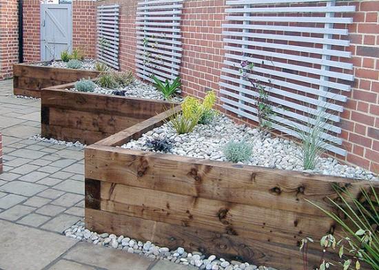 7 idee per realizzare pareti di sostegno nel giardino for Jardin en muro