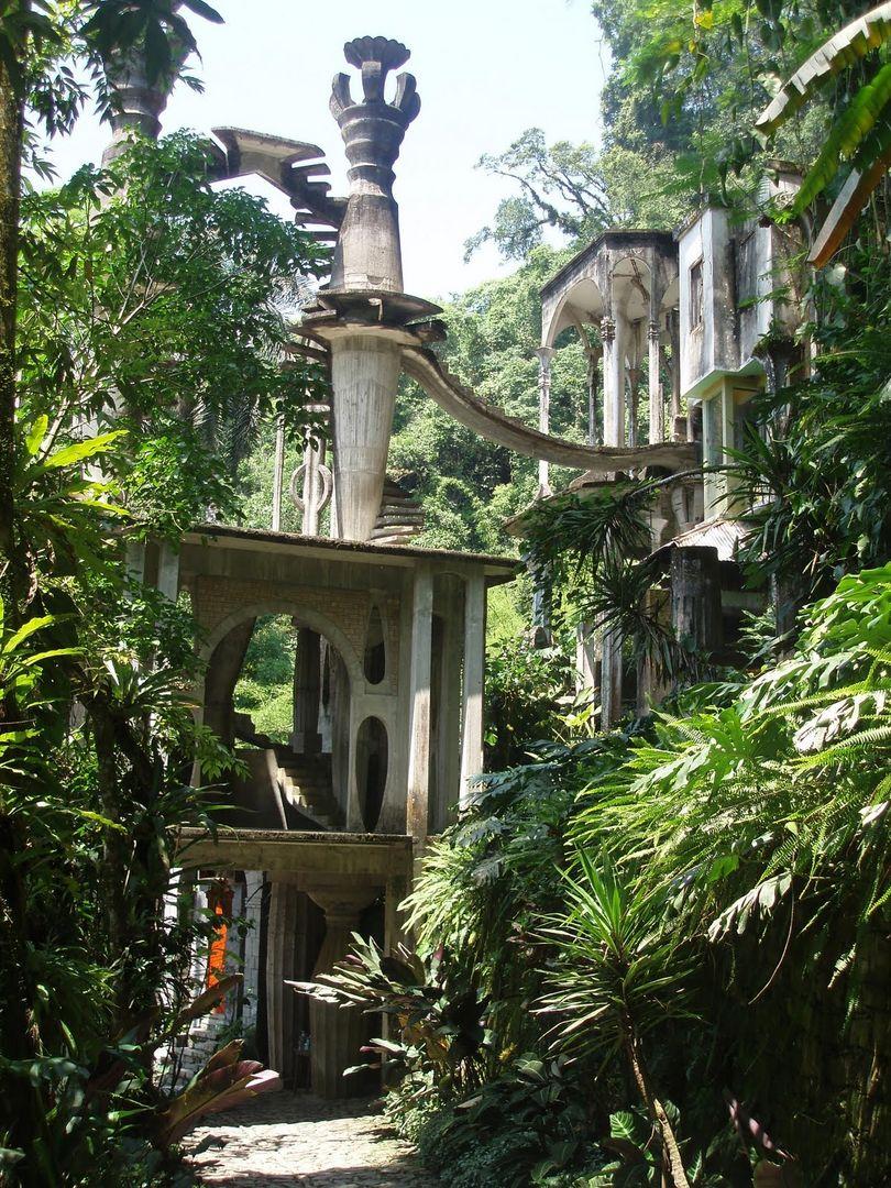 La casa del ingl s las pozas de xilitla gu a del for Jardin xilitla