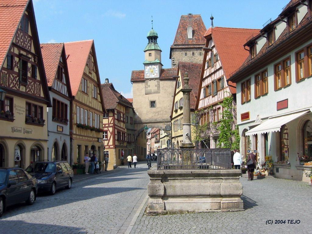 Rothenburg ob der tauber alemania gu a del trotamundos - Rothenburg ob der tauber alemania ...