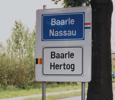 Baarle-Hertog, un lugar en dos países