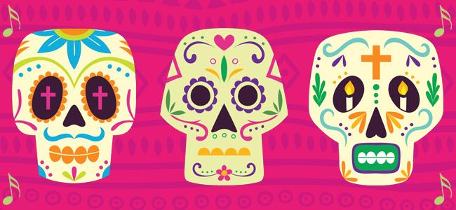 Cute Dia De Los Muertos Wallpaper La Calaverita De Az 250 Car Canci 243 N Infantil Para El D 237 A De