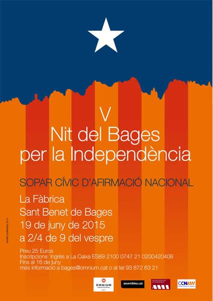 V Nit del Bages per la Independència
