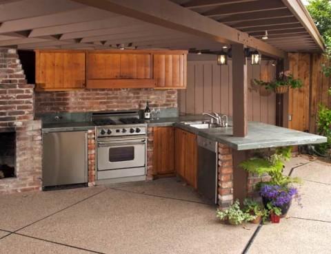 Barbacoas Y Cocinas De Exterior