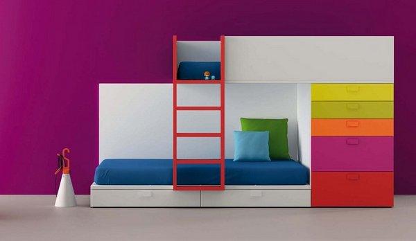 Habitaciones Para Ninos A Todo Color