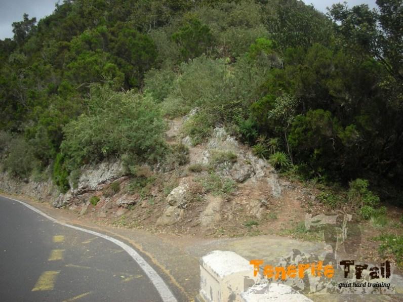 Después de un tramo de carretera dorsal (preciosas vistas) inicias el ascenso por este sendero