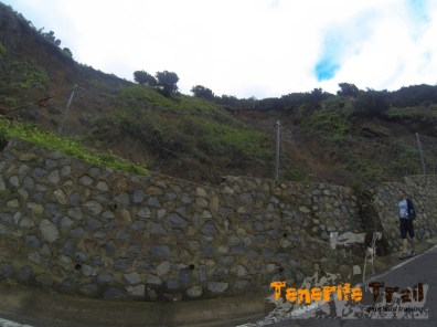 Punto crítico inicio sendero Roque Negro