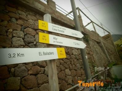 Cartelería senderos Taganana