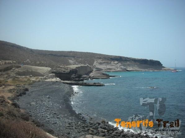 Detalle de la costa