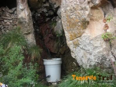 Punto de agua en el PR-70