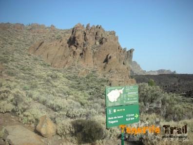 Zona de Parque Nacional sendero PR 70