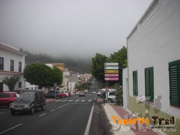 Tamaimo al fondo a tu izquierda salida sendero a Arguayo
