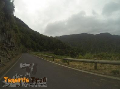 Entrada sendero en la carretera de Taborno dirección Las Carboneras