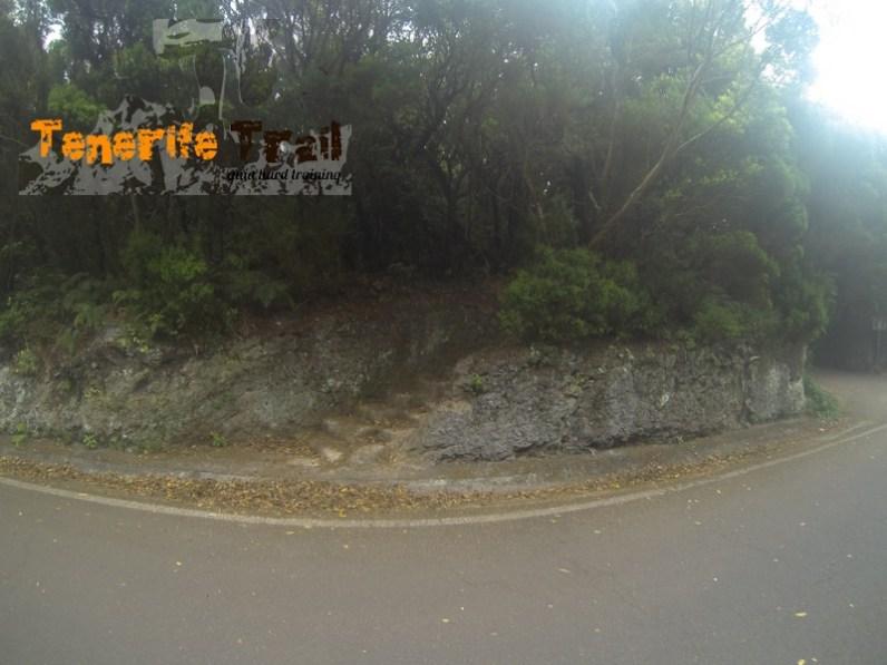 Inicio de nuevo el PR TF 2 en la zona de Pico del Inglés