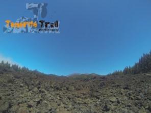 Imagen del Teide al fondo