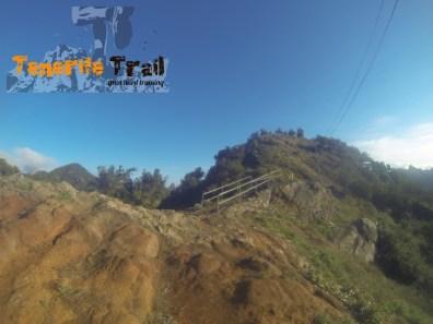 Punto característico donde nos conduce el sendero ya cerca de Roque Negro