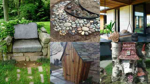 Decorare il giardino 15 idee creative guida giardino for Idee per il giardino piccolo