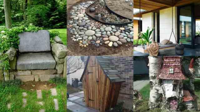 Decorare il giardino 15 idee creative guida giardino for Idee giardino semplice