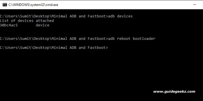 adb and fastboot