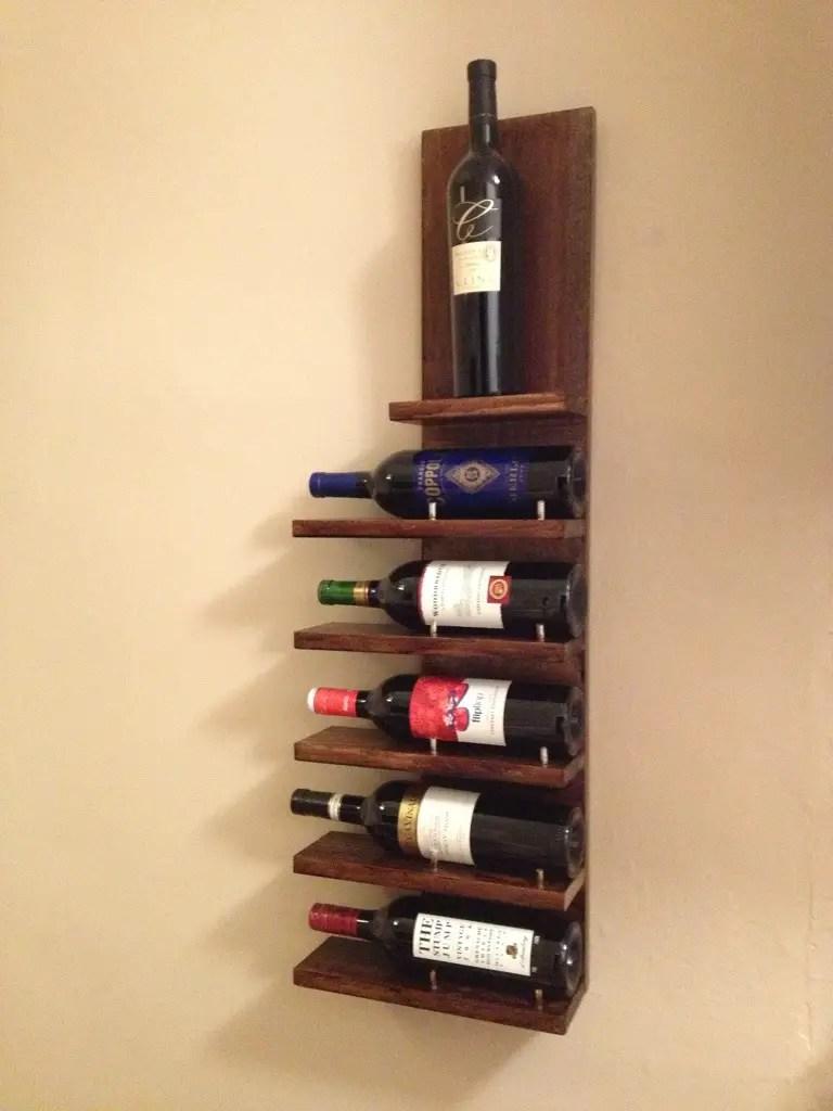 14 Easy DIY Wine Rack Plans