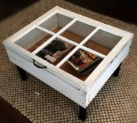 20 DIY Shadow Box Coffee Table Plans