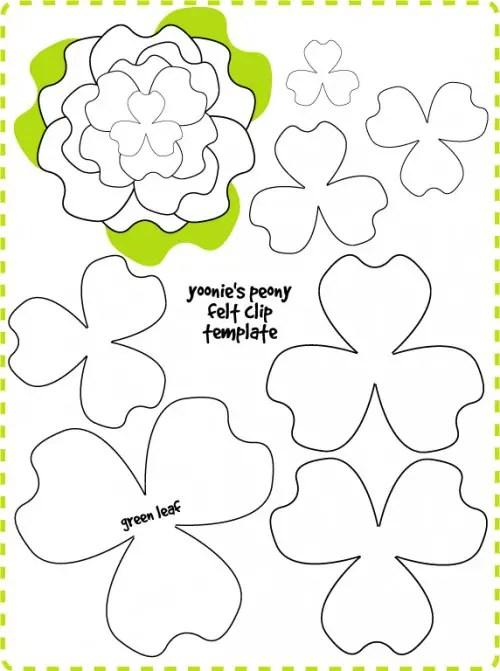 How To Make Felt Flowers  37 DIY Tutorials Guide Patterns