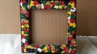 22 DIY Cardboard Picture Frames | Guide Patterns