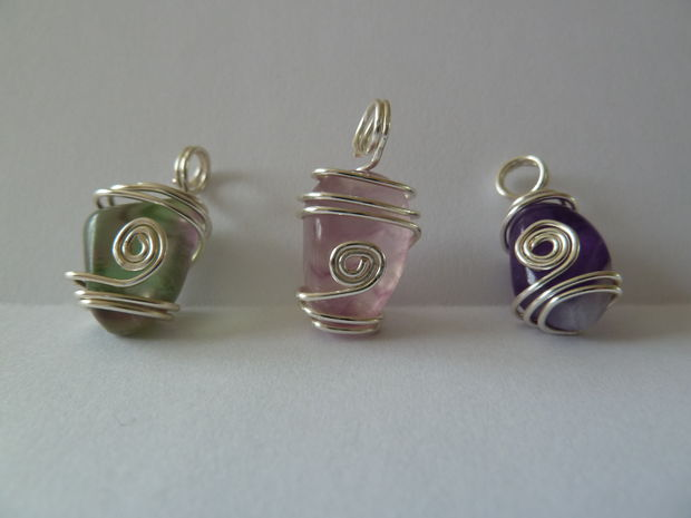 Wire Wrapped Pendants 42 Interesting Designs Guide Patterns