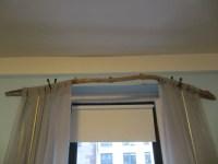 Tree Branch Curtain Rod: 15 DIY Tutorials | Guide Patterns