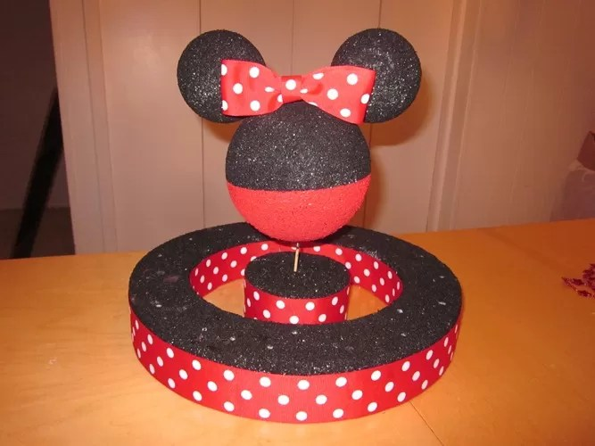 Mickey Mouse Clubhouse Cupcake Decorations Homemade & Mickey Mouse Cake Plates - Castrophotos