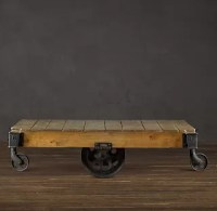 Cart Coffee Table: 12 Interesting Tutorials | Guide Patterns