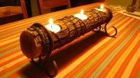 11 Homemade Log Candle Holders | Guide Patterns