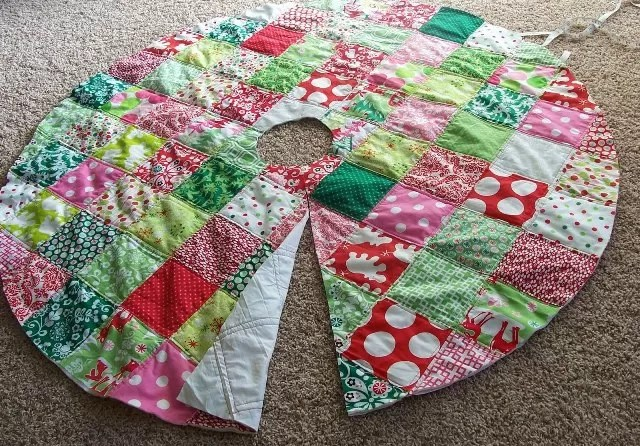 Christmas Tree Skirt Pattern Quilt Free Choice Image