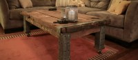 15+ DIY Coffee Tables Made From Old Doors   Guide Patterns
