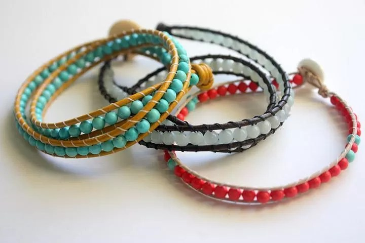 24 Tutorials On How To Make A Beaded Wrap Bracelet Guide