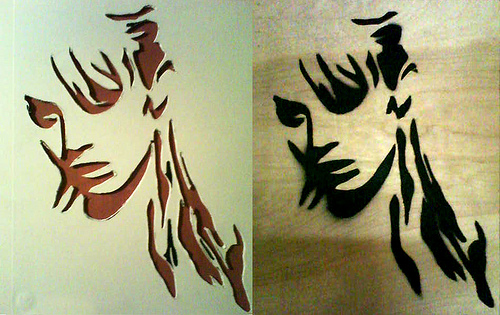 Spray Paint Stencils 6 Tutorials for Making Them and 32+ Designs