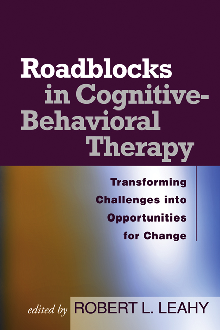 Roadblocks in Cognitive-Behavioral Therapy Transforming Challenges