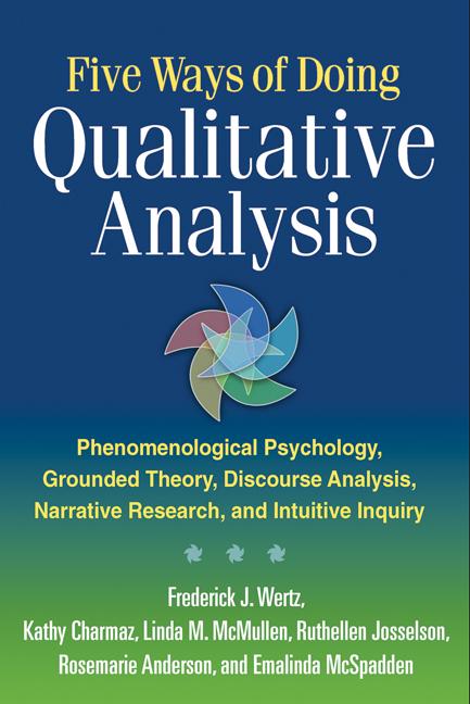 Five Ways of Doing Qualitative Analysis Phenomenological Psychology