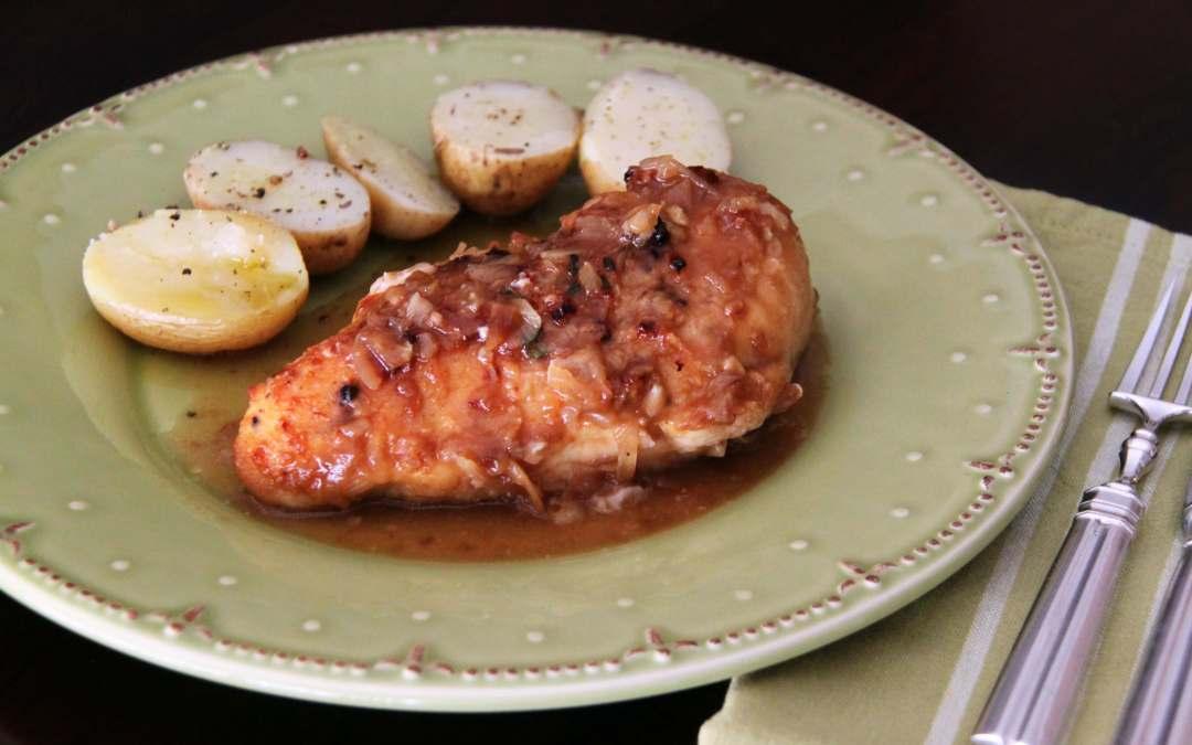 Pechugas de pollo asadas diferentes. Receta de pollo, original, facilón y lucido