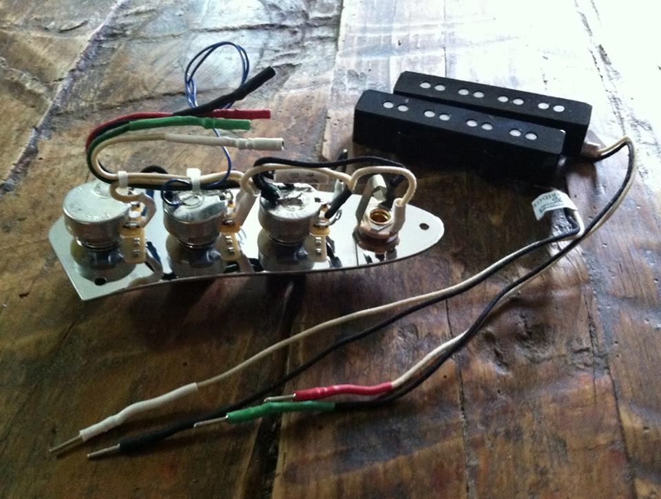 J Bass Wiring Diagram Electrical Circuit Electrical Wiring Diagram