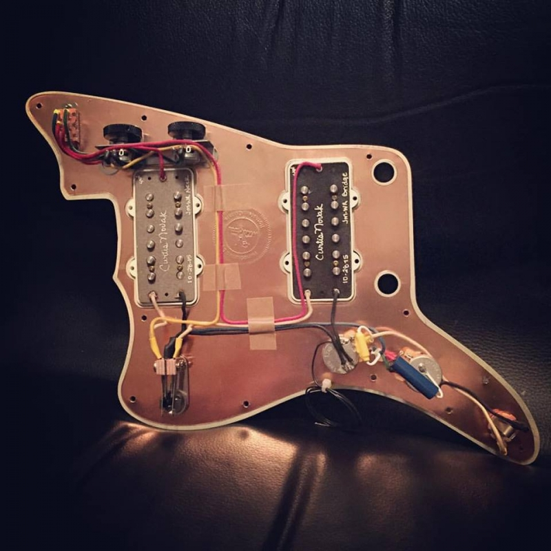 Prewired Jazzmaster - Dual Dial-A-Tap Wiring Rothstein Guitars